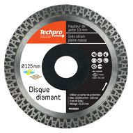 Disques diamants de finition