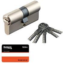 Cylindre de sûreté tech 6 Nickelé varié