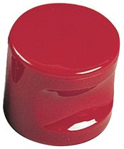 Bouton à encoche MK 79 nylon 6.6 Rouge 12