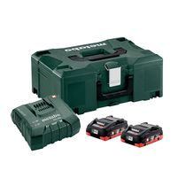 Pack 2 batteries + chargeur 18 V 2X4 AH