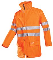 Veste de pluie HV Kassel orange fluo
