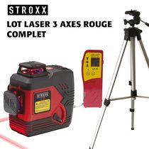 Lot laser 3 axes rouge STROXX complet