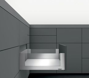 Kit tiroir LÉGRABOX free - Inox anti-traces de doigts