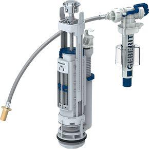 Mécanismes de chasse d'eau et robinets