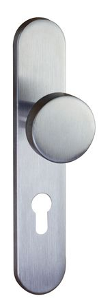 Demi palière bouton fixe