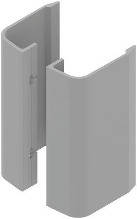 Poignée de porte battante type aileron