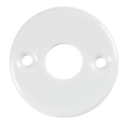 Rosace ronde porcelaine