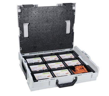 Mallette L-Boxx 400 bornes 221 à levier avec un sachet de bornes offertes