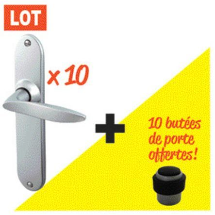 Kit 10 ensembles Twist velours 195 + 10 butées offertes